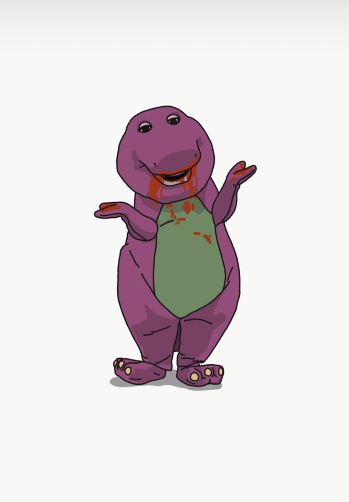 Barney What Did You Eat In 2020 Drawing Wallpaper Cool Drawings Scooby Doo