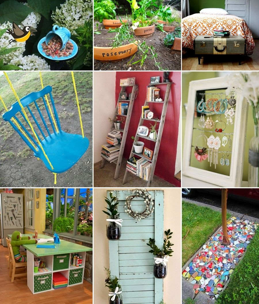 20 Recycling Ideas For Home Decor: Pin By Amazing Interior Design On Great Ideas