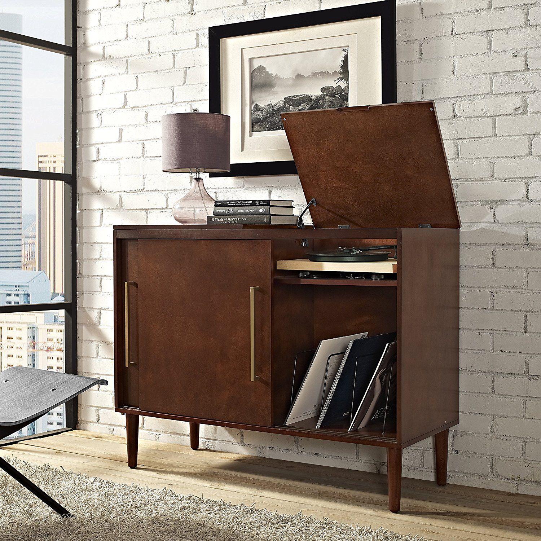 Amazon Crosley Furniture Everett Media Console Mahogany