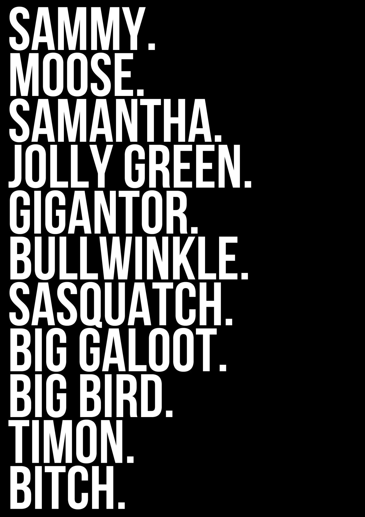Samantha nicknames
