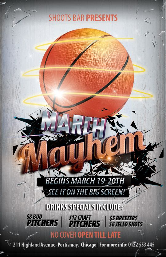Free Basketball Flyer Templates | DESIGN Graphic | Pinterest