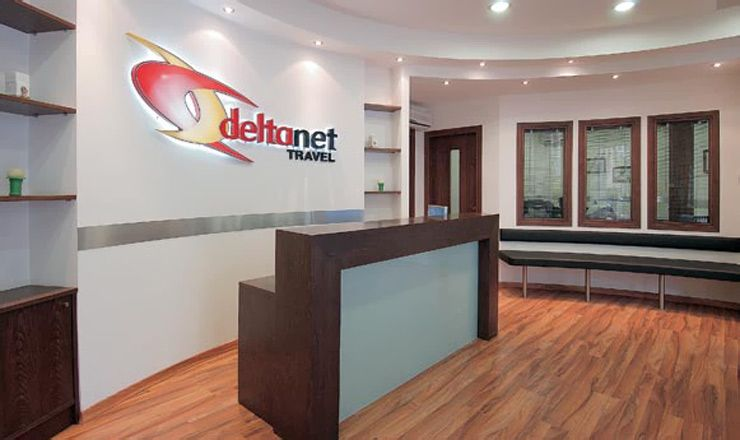 NET Travel Agency DELTA In HERAKLIO CENTER Heraklion Crete Interior Design OfficesTravel