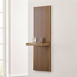 Batten Flat Wall Shelf In 2020 Wall Shelves Shelves Crate Barrel