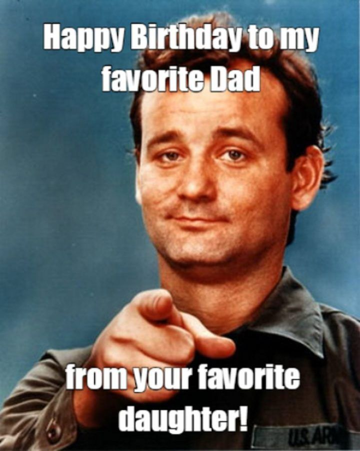 Happy Birthday Dad Funny Meme