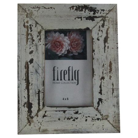 Display cherished photos in this weathered picture frame, offering rustic appeal for your entryway console or nightstand.  Product: ...