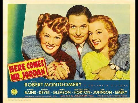 Here Comes Mr. Jordan (1941) Robert Montgomery, Evelyn Keyes, Claude Rai...