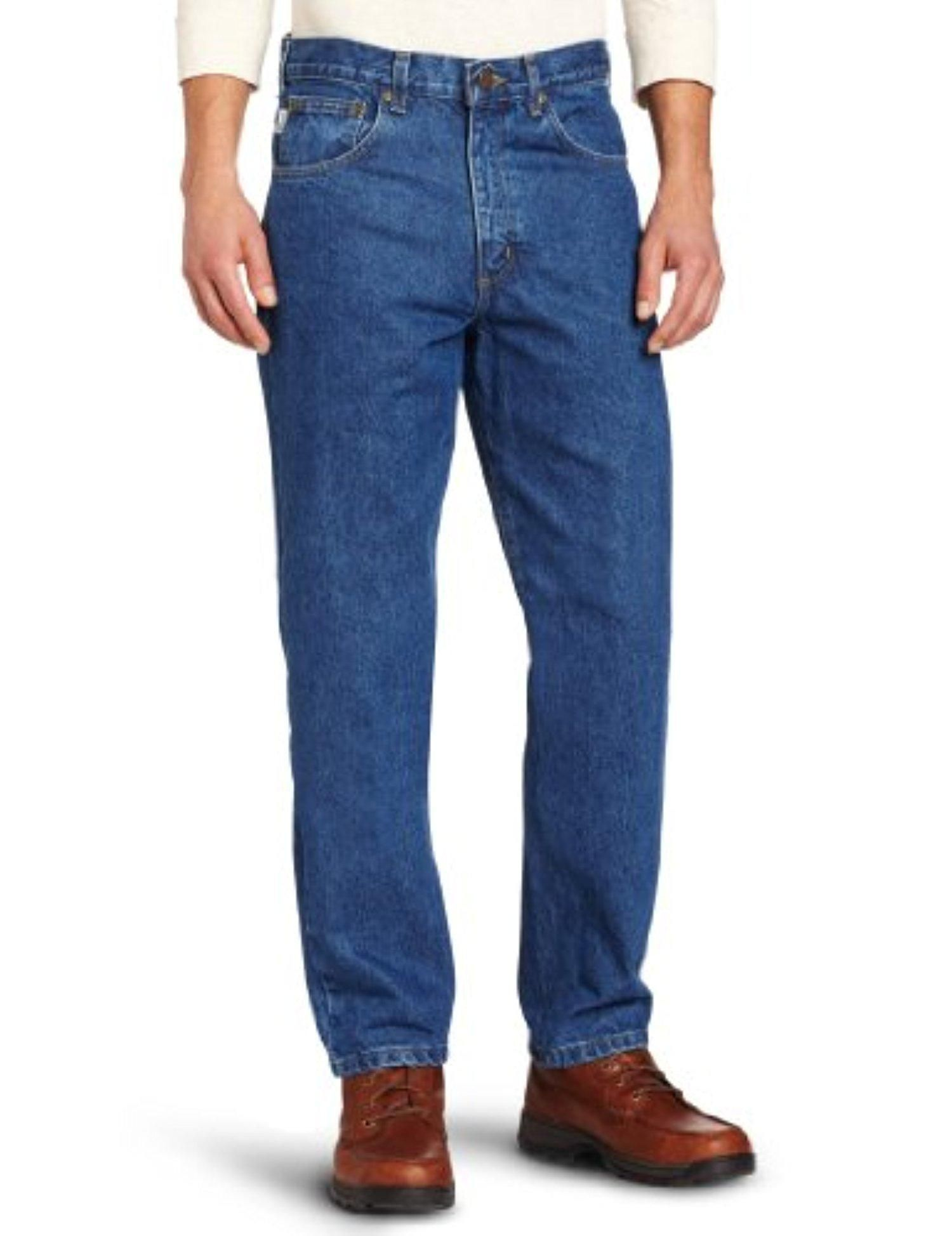 Carhartt mens relaxed fit five pocket tapered leg jean