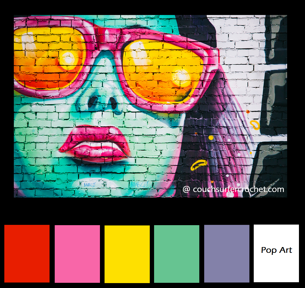 36da4560017 Color combo inspiration - pop art - graffiti - bold colors - bright colors