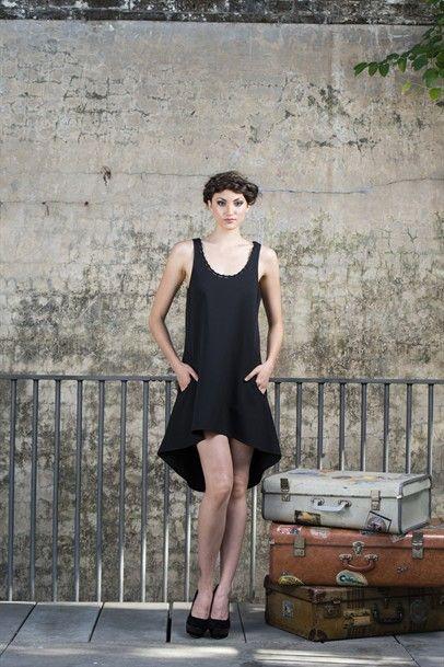 ...yA-Line Pocket Dress-LUD100-BLACK $69.00 on mysale.com