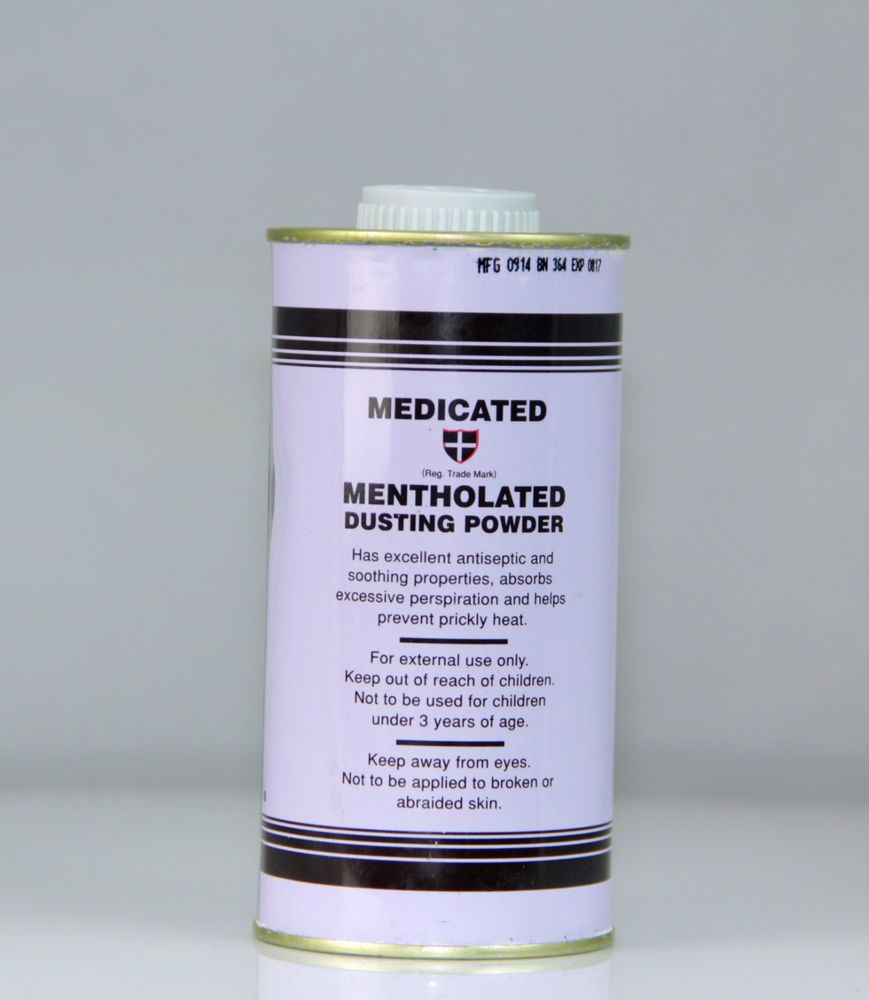 Medicated Mentholated Dusting powder By Cussons,Skin