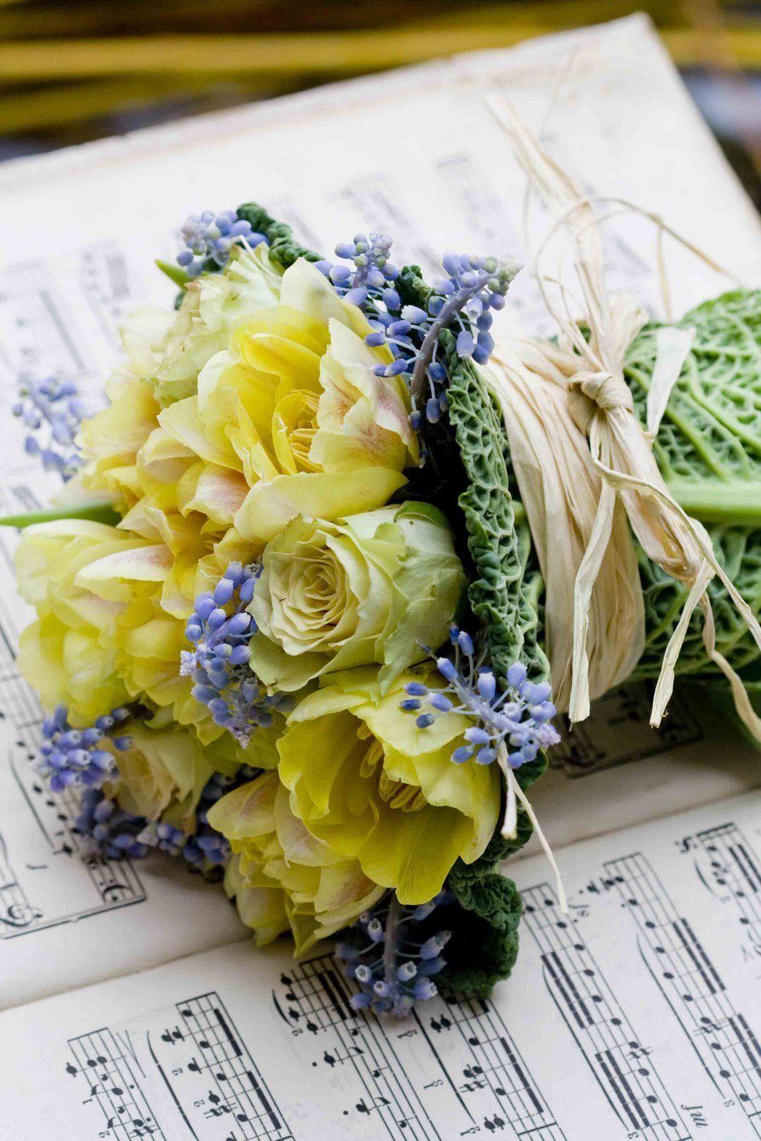 "katysflowersandantiques: ""Music and Flowers. """