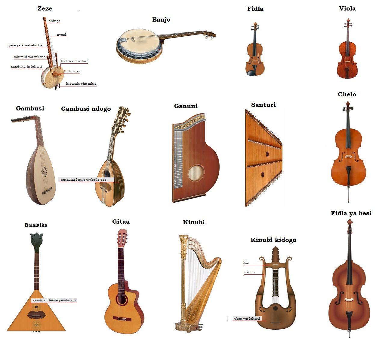 Uncommon Instruments Worksheeets