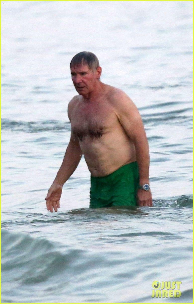 Harrison Ford Shirtless Beach Guy In Rio Men Beach Harrison Ford Shirtless