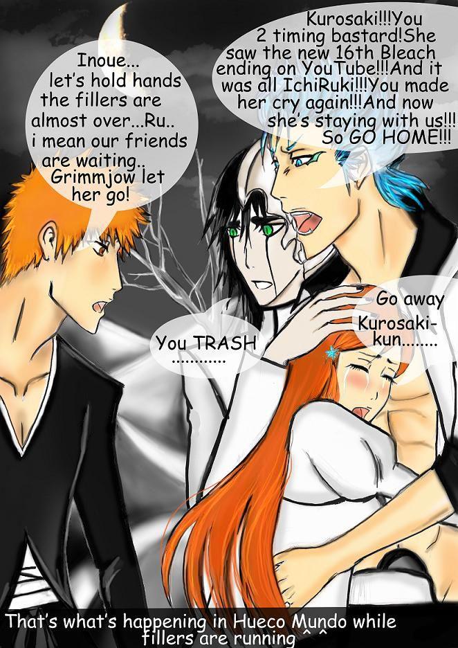 NO ICHIHIME? by kiara7055 Bleach anime funny, Bleach funny