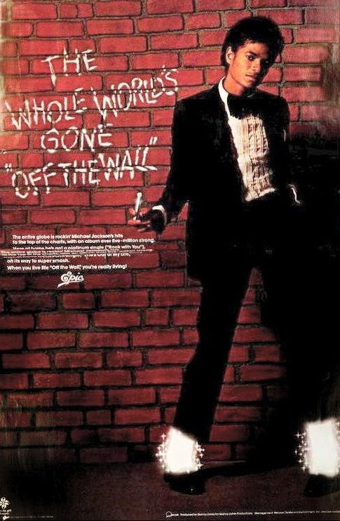 Off The Wall Michael Jackson Album Off The Wall 1979 With