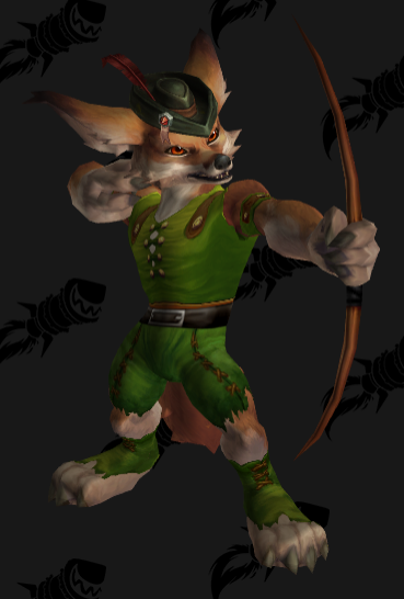 The Must Have Hunter Transmog For All Vulpera Fans Out There