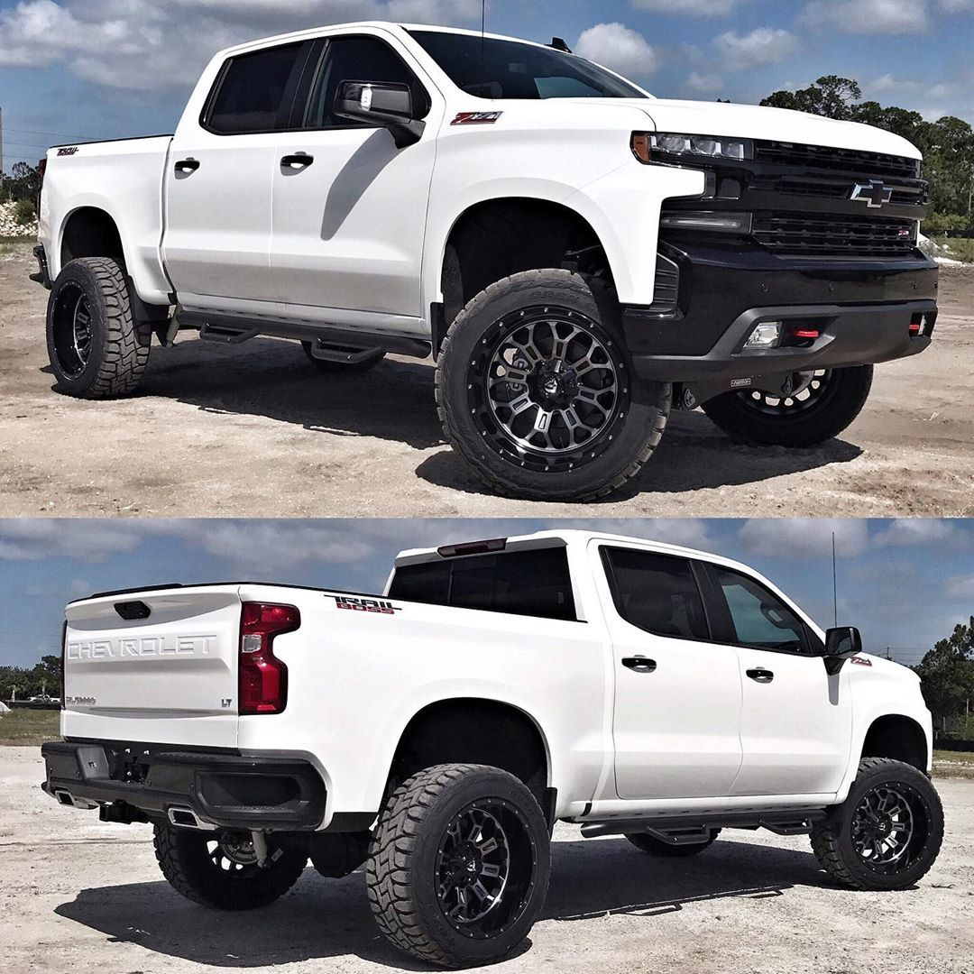Extreme Performance On Instagram Check Out This Brand New 2019 Chevy 1500 Trail Boss Custom In For A 4 Chevy 1500 Chevy Trucks Silverado Chevy Pickup Trucks