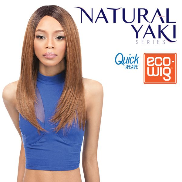 outre synthetic fullcap quick weave eco wig iris (futura