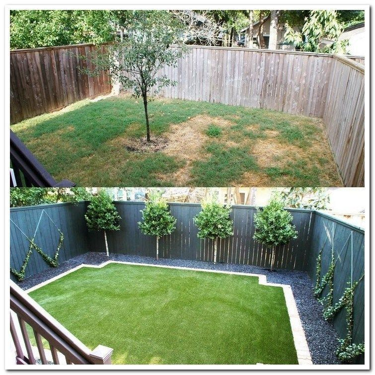 33 Simple Front Yard Backyard Landscaping Ideas On A Budget 2019 Frontyardbackyar Small Backyard Landscaping Backyard Landscaping Designs Backyard Landscaping