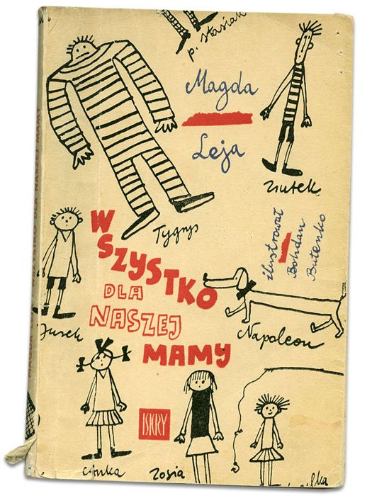 Cover illus. by Bohdan Butenko for Wszystko dla naszej mamy, 1969