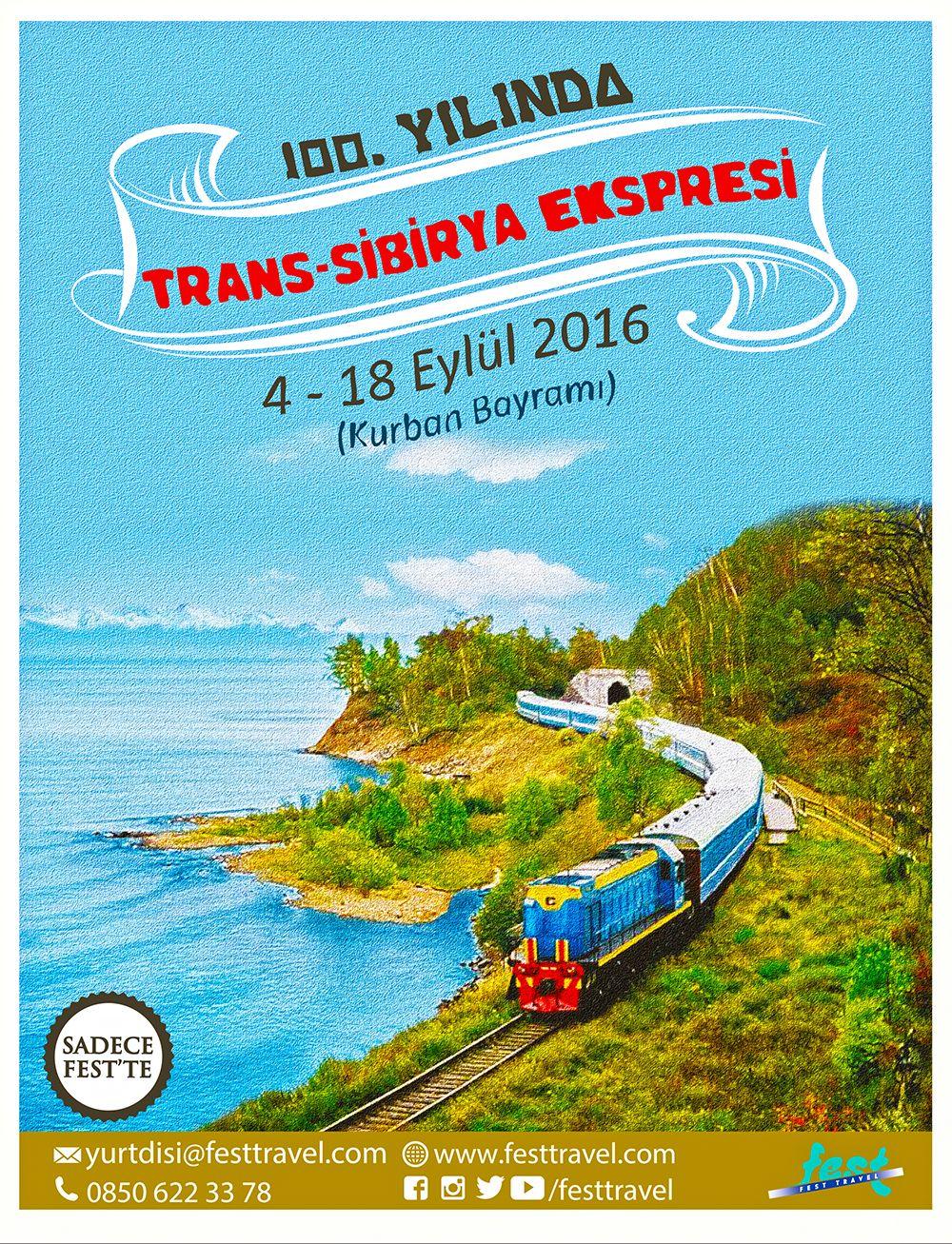 Efsane Rota 100. Yılında: Trans-Sibirya Ekspresi