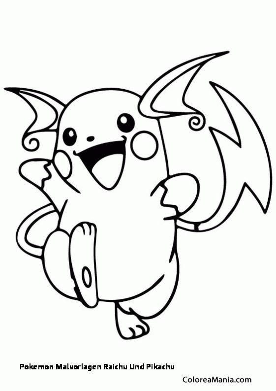 Ausmalbilder Pokemon Raichu Pokemon Ausmalbilder Pokemon Malvorlagen Ausmalbilder