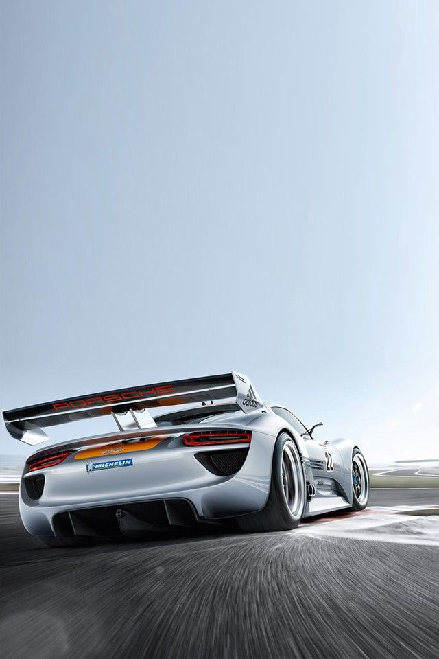 Porsche 918 Iphone Wallpaper Download Free Auto Rsr With Size 640x960 Image