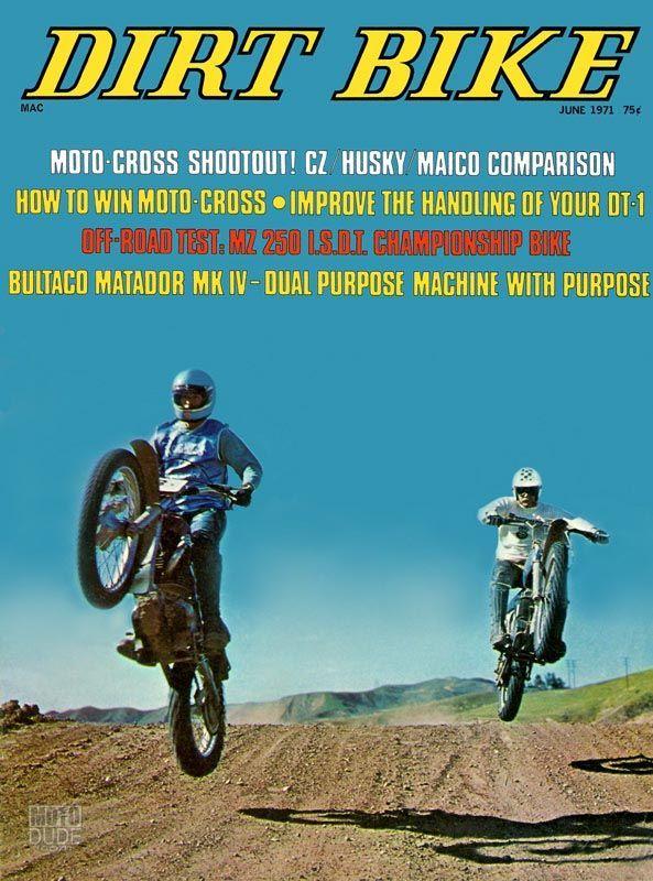 June 1971 First Issue Dirt Bike Magazine Vintage Motocross