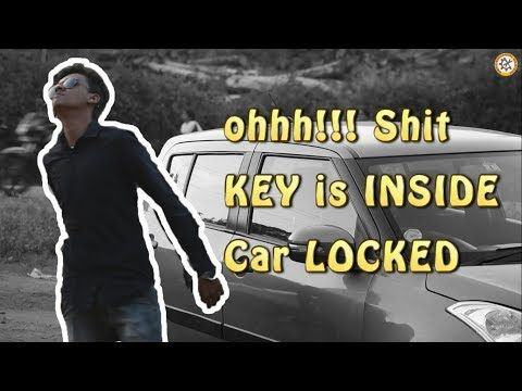 How to Unlock Car door without Key || problem in four