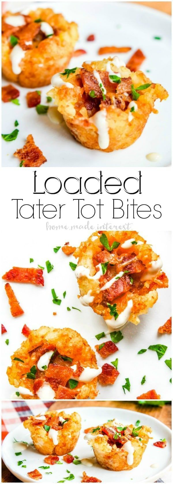 Loaded Tater Tot Bites Loaded Tater Tot Bites   This awesome tater tot appetizer recipe is and easy