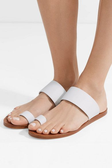 Woman by Common Projects White Leather Minimalist Sandals xhT2gsKL2