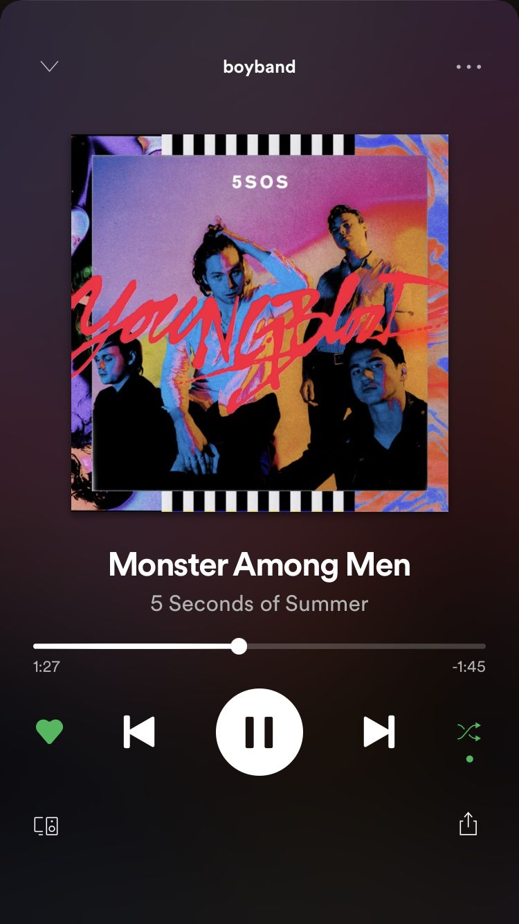 Pin By Izi On Playlist 5 Seconds Of Summer Spotify Music Mood