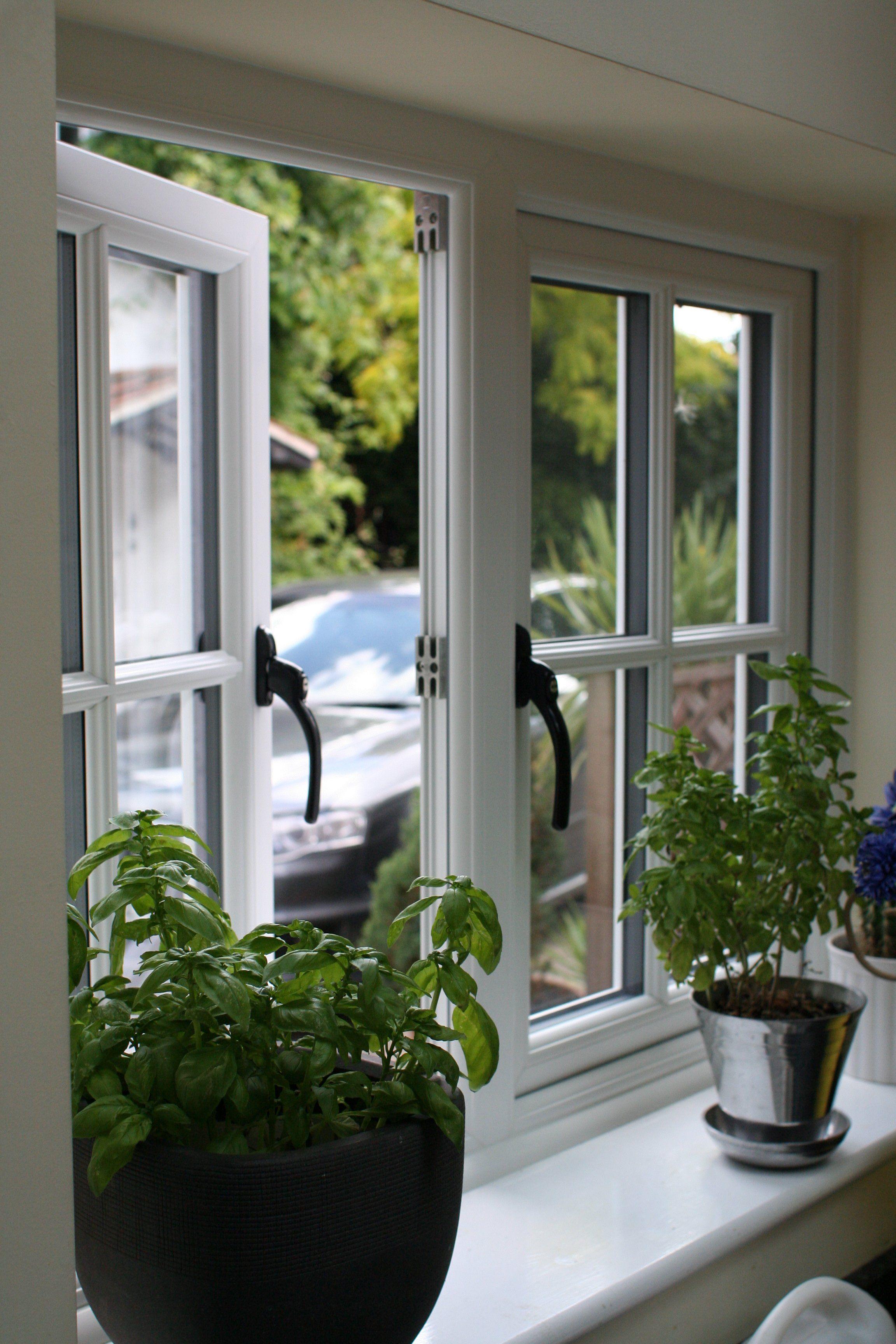 Pots Of Herbs Cottage Windows Upvc Windows Window Styles