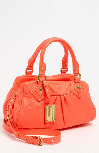 157ded956253 MARC BY MARC JACOBS  Classic Q - Baby Groovee  Leather Satchel ...