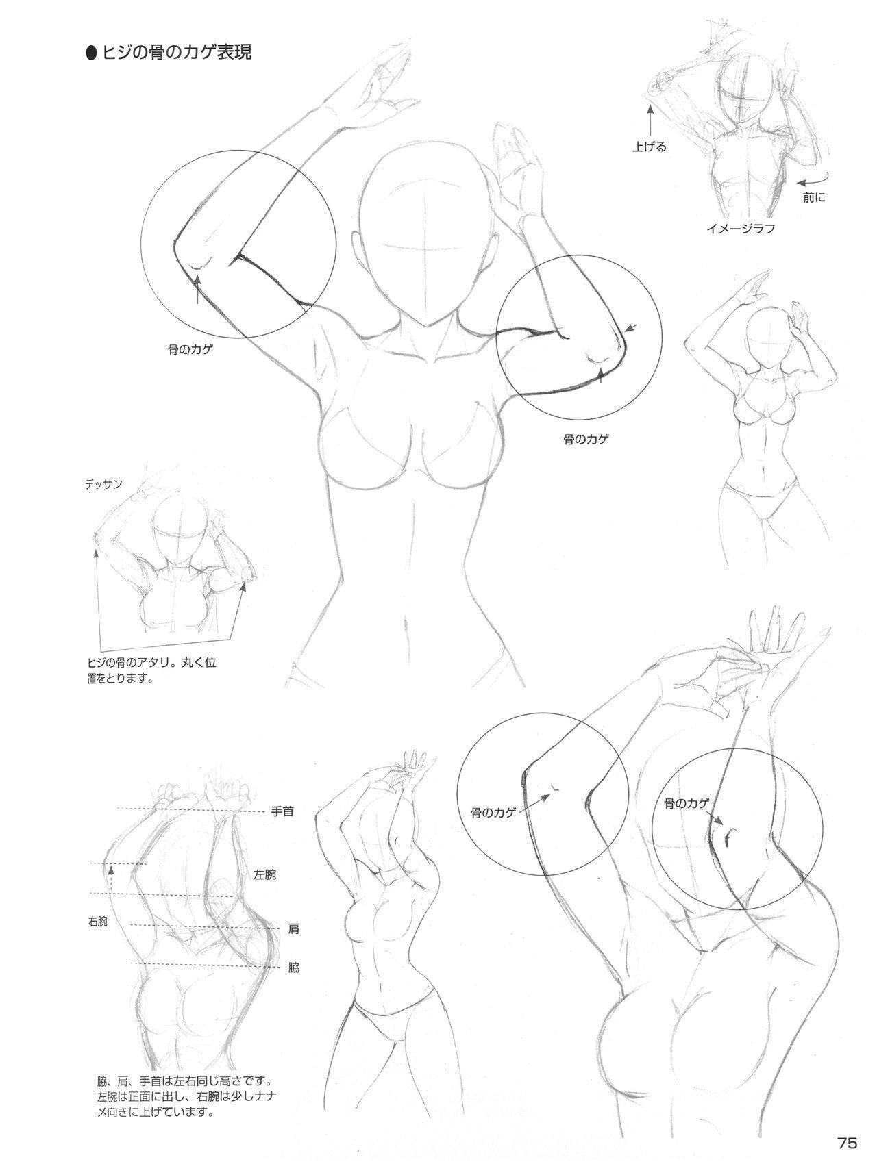 Female Elbowstorso Drawing Female Pinterest Drawings Anatomy