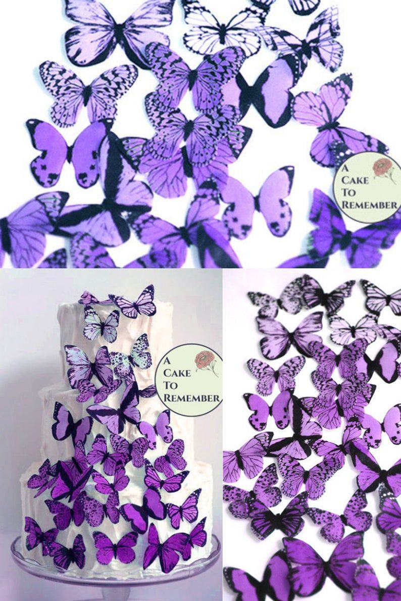 19++ Butterfly cake toppers gold trends