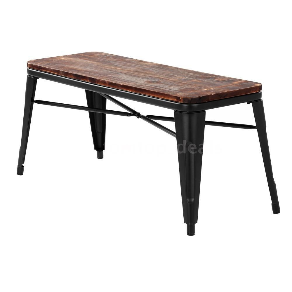 Magnificent Industrial Dining Bench Home Patio Garden Vintage Rustic Alphanode Cool Chair Designs And Ideas Alphanodeonline