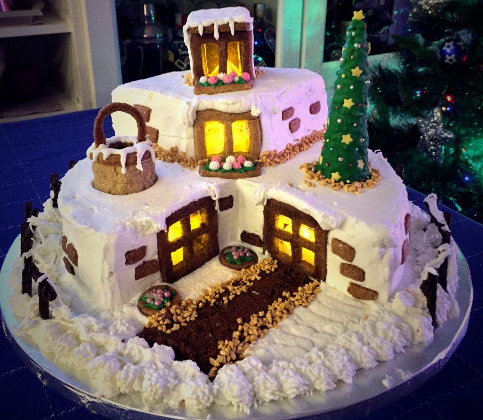 Torte Decorate Per Natale pin di zina biondo su torte | ricette di dolci natalizi