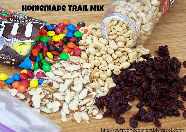 Homemade Energy Trail Mix