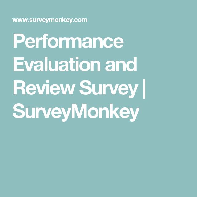 Performance Review Surveys Performance Appraisal Performance