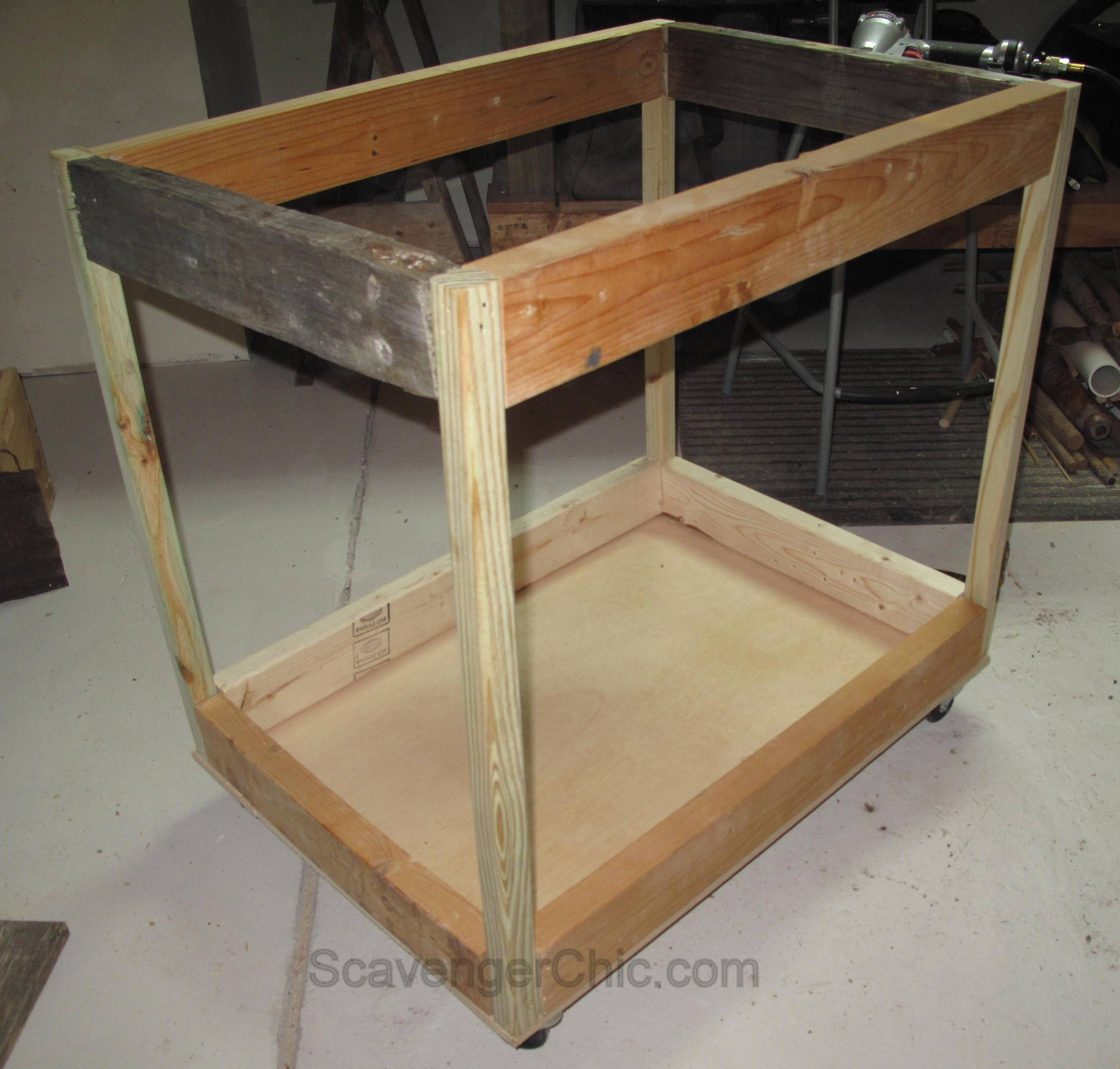 Pallet Wood Projects, Rolling Storage Cart, Scrap Wood ...