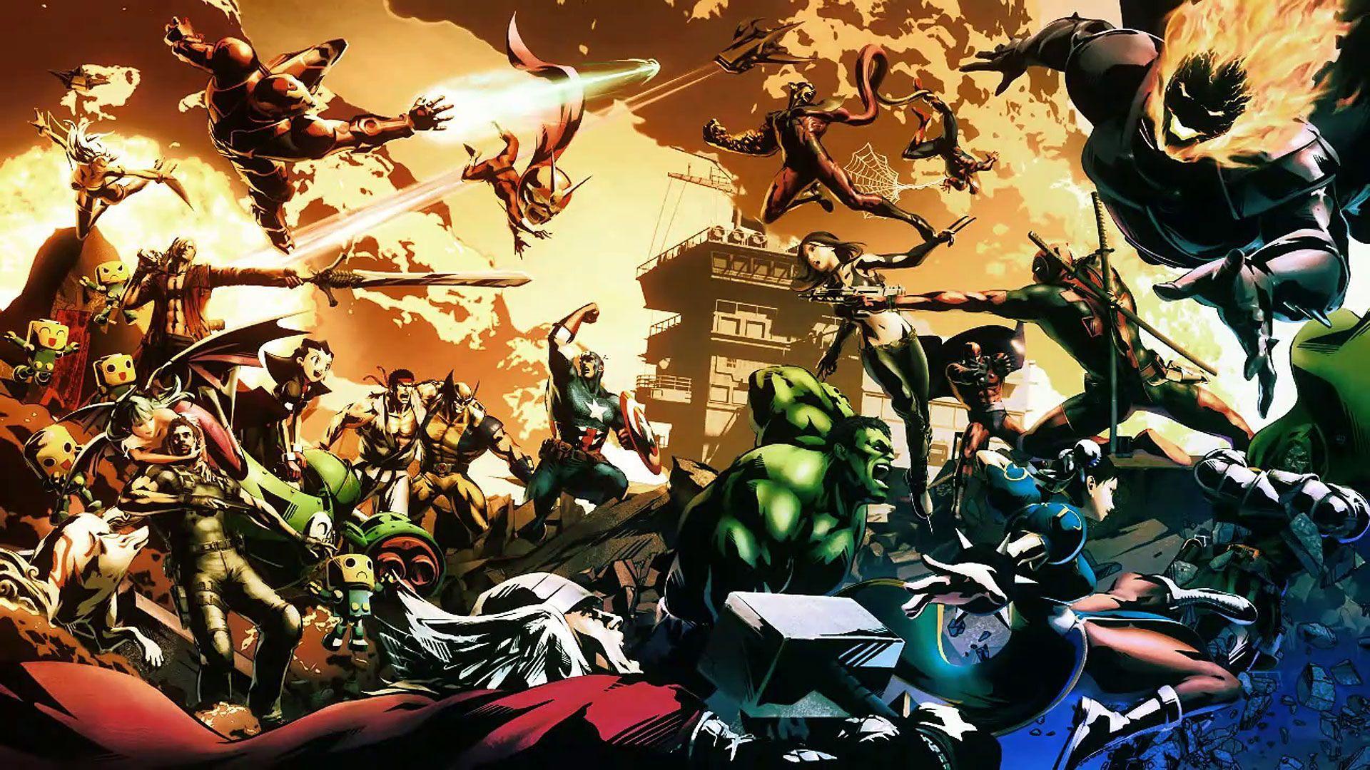 Ultimate Marvel Vs Capcom 3 Usa Ps3 Iso Download Free List Of Best Mods Papel De Parede Marvel Papeis De Parede De Jogos Hd Game Art