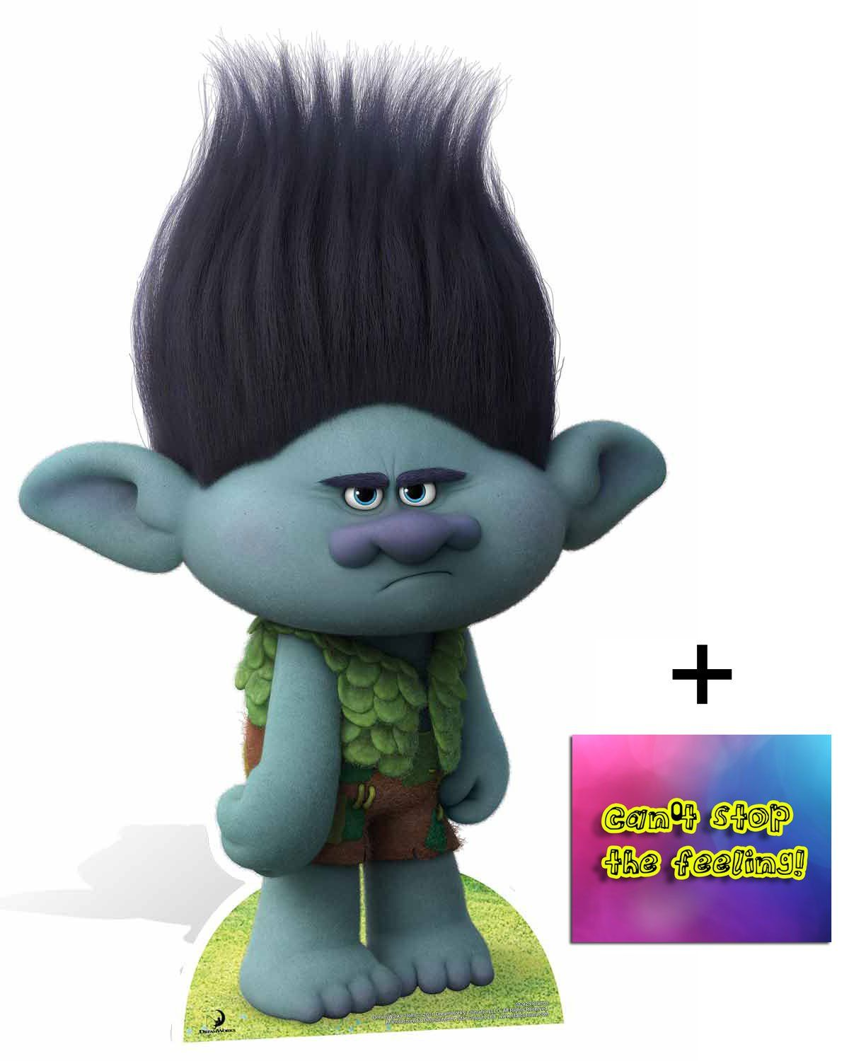 Fan Pack Branch From Trolls Cardboard Cutout Standee Standup Includes 8x10 Star Photo Visit The Image Link Cardboard Cutout Cutout Cardboard