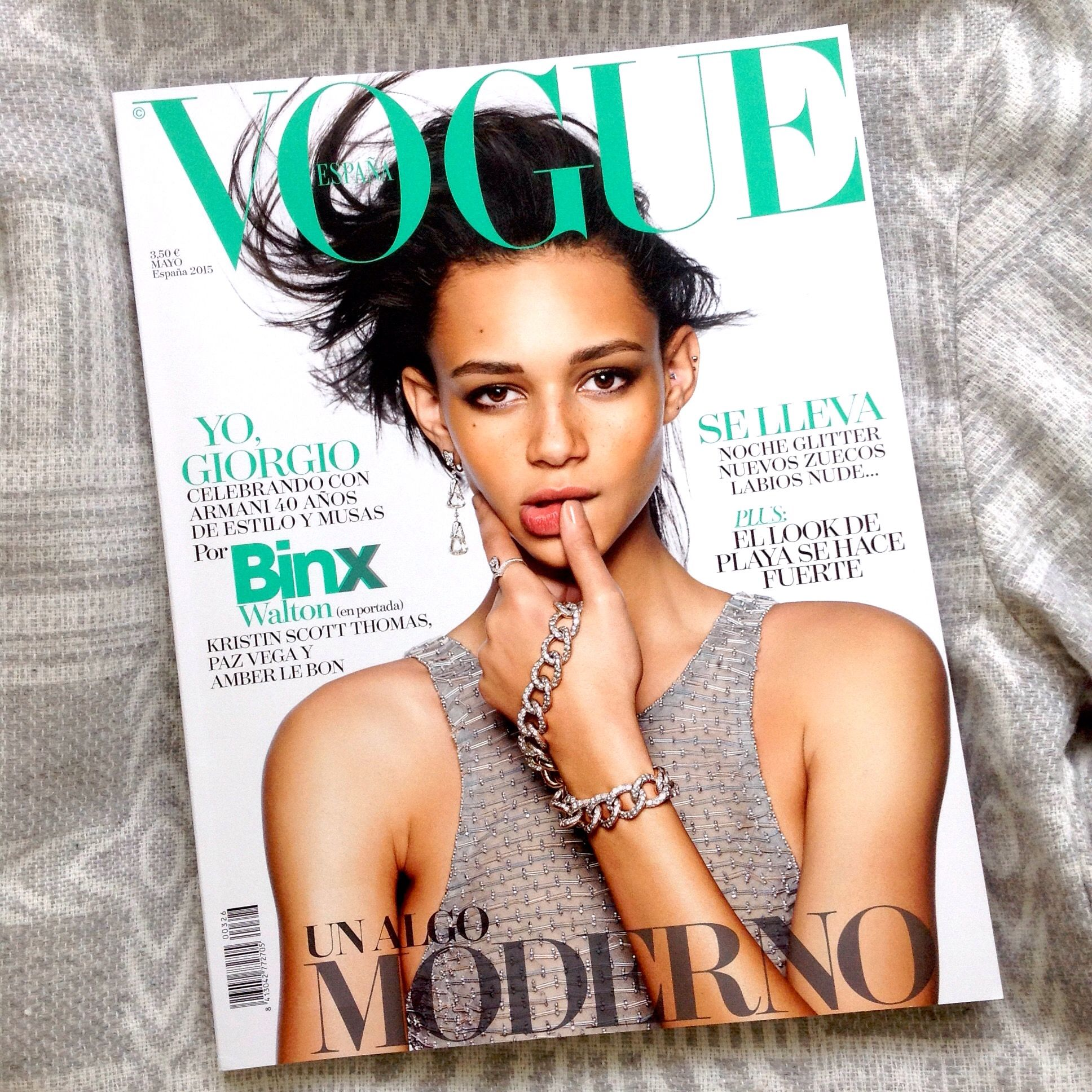 Fashion week Walton binx vogue spain may for woman