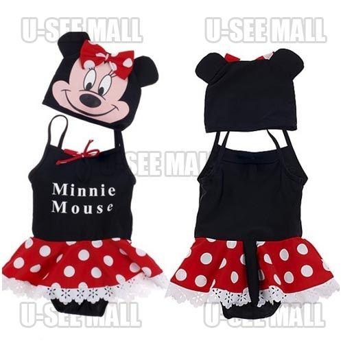 Hot Sale Micky Mouse Baby Swimwear Kids Boys Trunks Dress Bathing