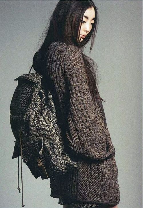 An Entry From Le Petit Trianon Knitwear Backpacks And Crochet