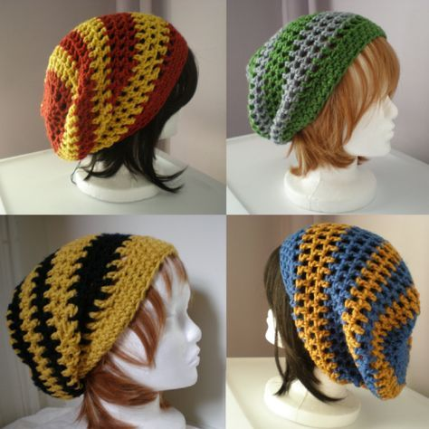 harry potter crochet hat - Google Search | coisas nerds pra Mari ...