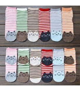 Calzini miciosi (colori assortiti)