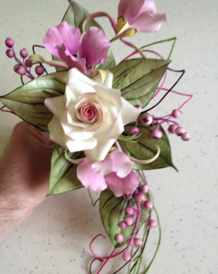 sugar flowers by Alan Dunn
