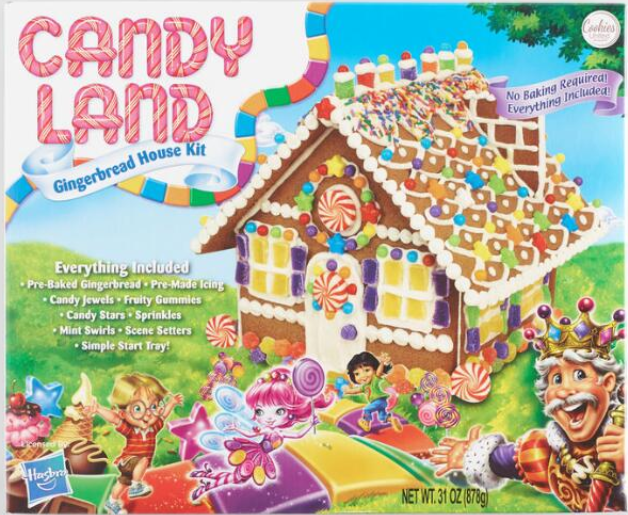 Candy Land Gingerbread House Gingerbread House Kits Christmas Gingerbread House Gingerbread House Parties